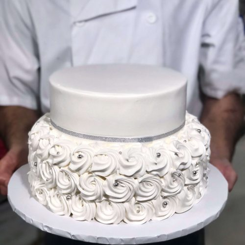ROSETTES RUFFLES AND OMBRE EFFECT
